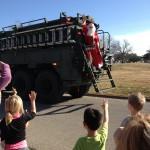 A Santa Surprise Army Style