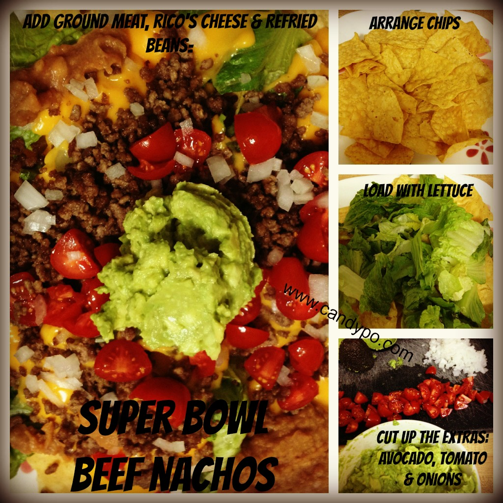 Super Bowl Beef Nachos