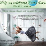 Celebrate Earth Day with Oransi! Pin It to Win It!