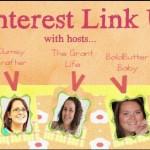 It's a Pinterest Link-Up