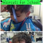 Wordless Wednesday Haircuts for School