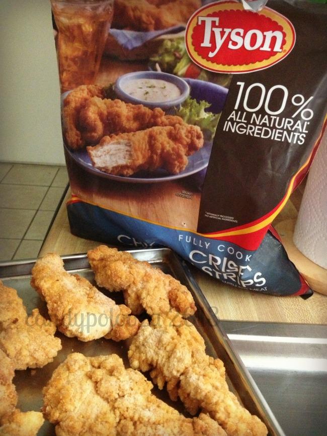 Tyson Crispy Chicken Strips: Chicken Dippers Recipe #SamsDemo #CBIAS #Shop