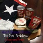 Wolf Brand Chili Tex-Mex Enchiladas #1TexasChili #ad