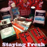 Staying Fresh with Always Giveaway #ad