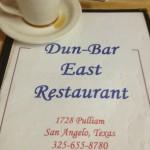 Dun Bar Restaurant in San Angelo a Review