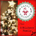 Happy Holidays from a Military Family