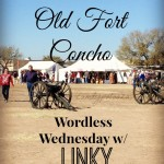 Our 1st Christmas at Old Fort Concho Wordless Wednesday W/Linky