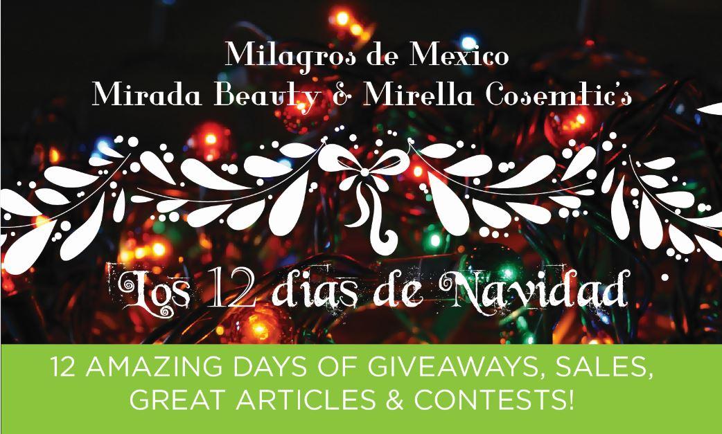 Milagros de Mexico huge logo