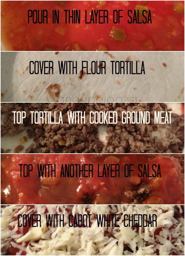 layer pic of white cheddar enchilada
