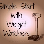 Simple Start with Weight Watchers #ad