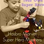 Mash-Up Your Own Super Hero! Hasbro Marvel Super Hero Mashers #MiMashUp #ad
