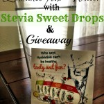Enhance Your Water with Stevia Sweet Drops & Giveaway #ad