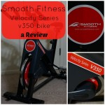 Smooth Fitness Velocity Series 350 Bike a Review #SmoothBlogger #ad