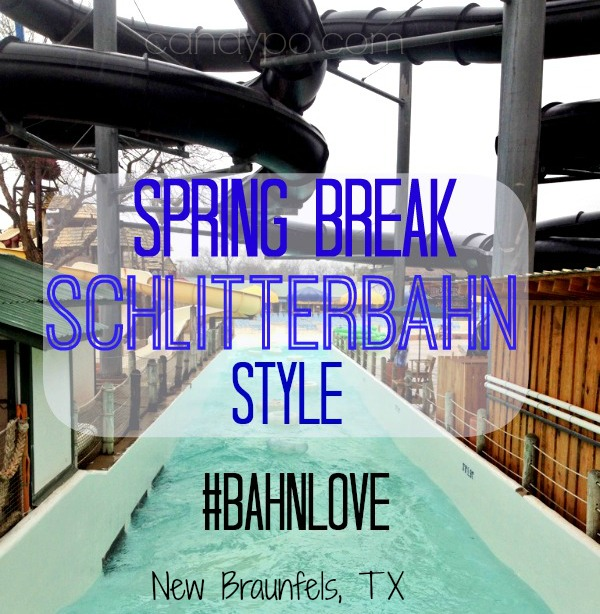 Spring Break Schlitterbahn Style Header