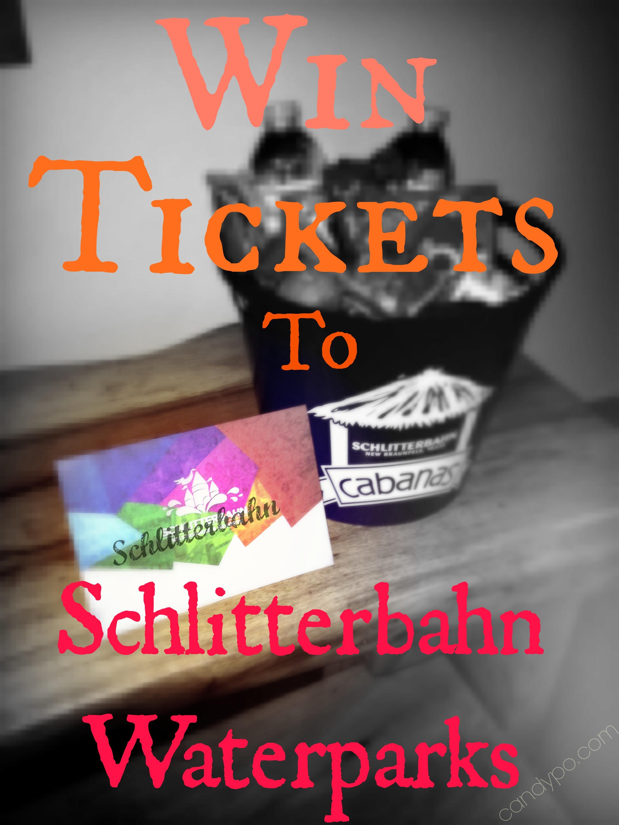 Schlitterbahn ticket giveaway