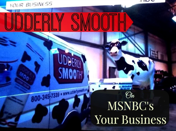 tv segment van and cow