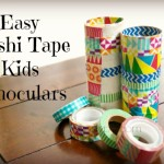 Easy Washi Tape Kids Binoculars