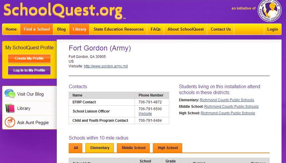 school quest