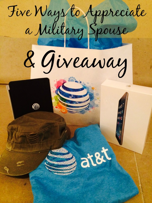 ways to appreciate a military spouse header