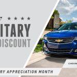 Chevy Salutes our Military for Military Appreciation Month #ChevySalutes #ad