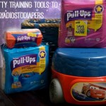 Using Potty Training Tools to #SayAdiosToDiapers #ad