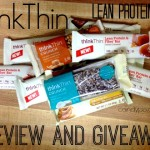 thinkThin Lean Protein & Fiber Bars Review and Giveaway #ad