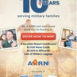AHRN Ten Year Celebration Sweepstakes and Giveaway #ad