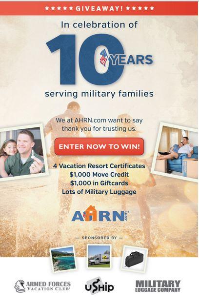 AHRN Giveaway