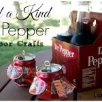 One of a Kind Dr Pepper Outdoor Crafts #BackyardBash #shop