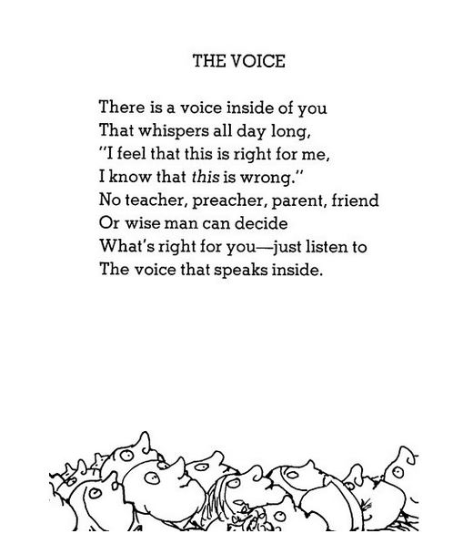 The Voice poem
