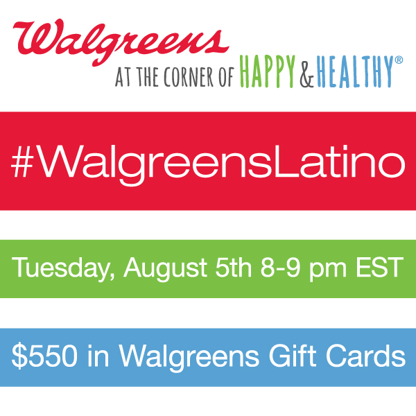 RSVP For The #WalgreensLatino Twitter Party