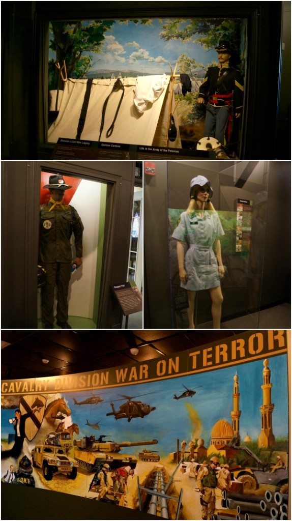 1st cav museum collage 2