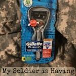 My Soldier is having a #SmoothSummer with Gillette Razors