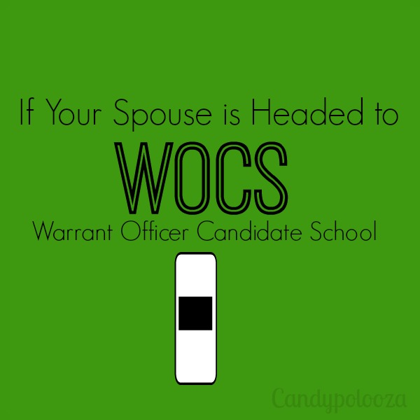If Your Spouse is Headed to WOCS