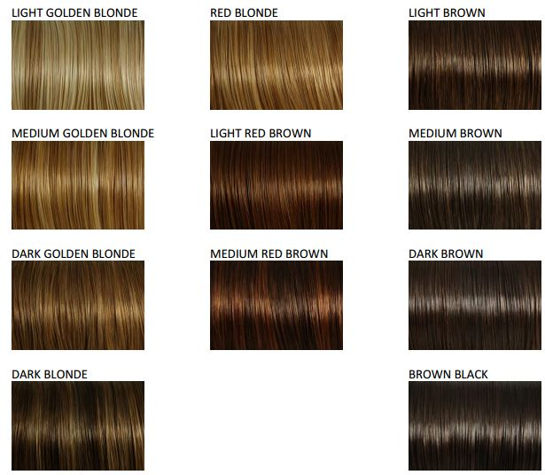 Secret Extensions Color list