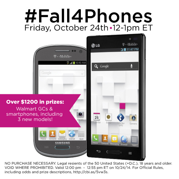 #Fall4Phones-Twitter-Party-10-24