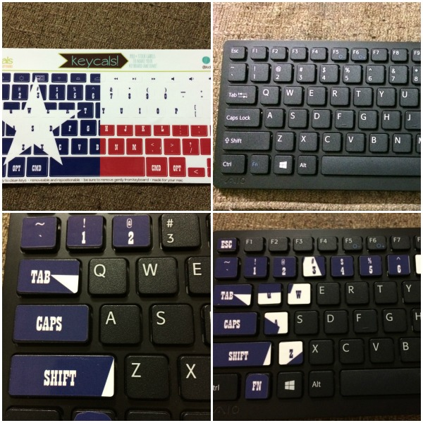 Kidecals keyboard collage