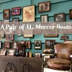 A Pair of J.L. Mercer Boots