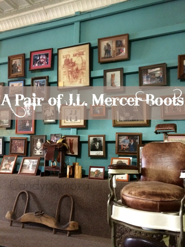 A pair of JL Mercer boots 1