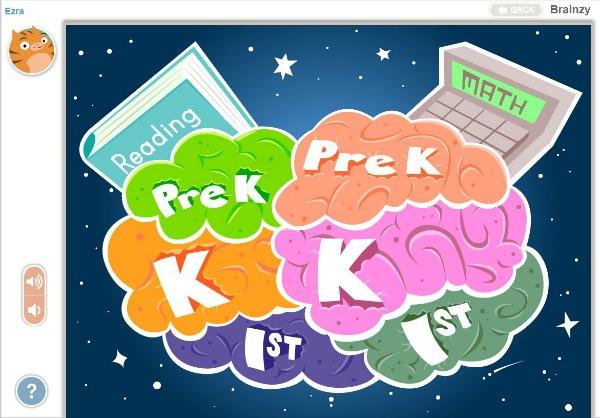 Brainzy Start page