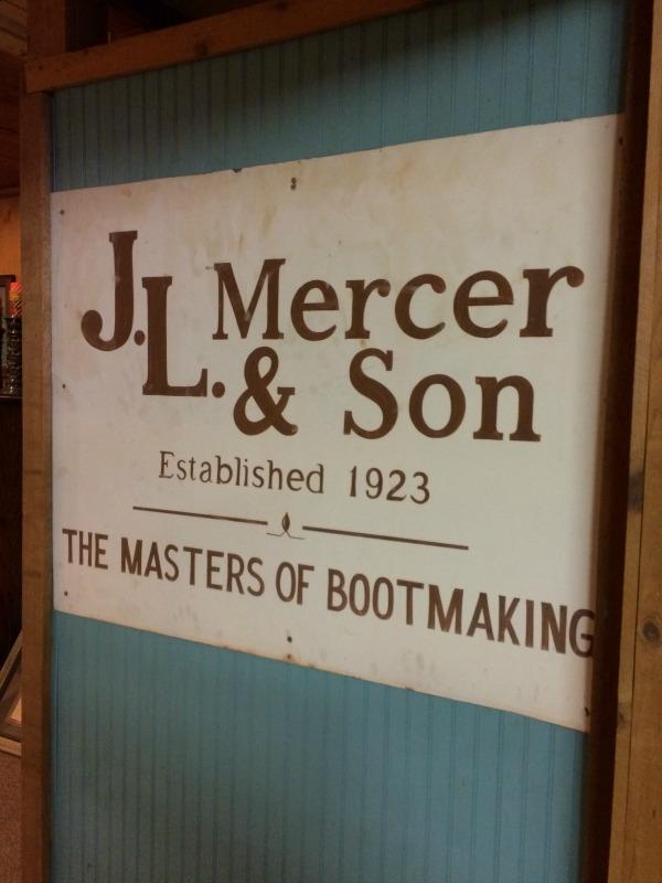 jl mercer bootmaking