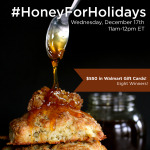 RSVP for the #HoneyForHolidays Twitter Party 12/17 #ad
