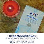RSVP for the #TheMoodStrikes Twitter Party 12/30