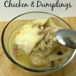 Easy Chicken & Dumplings Recipe