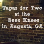 Tapas for Two at The Bees Knees in Augusta, GA