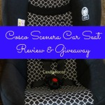 Cosco Scenera Car Seat Review & Giveaway
