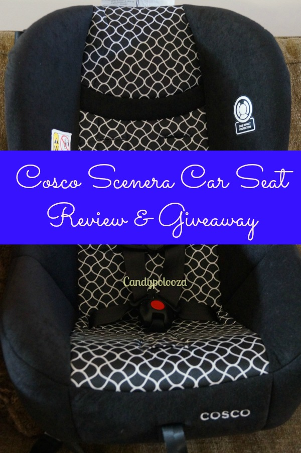 Cosco Scenera Car Seat Review & Giveaway - Candypolooza