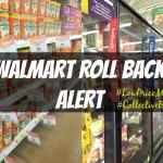 Walmart Rollback Alert!