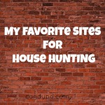 My Favorite Sites for House Hunting