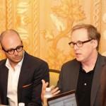 The Creative Minds of Brad Bird and Damon Lindleof #TomorrowlandEvent